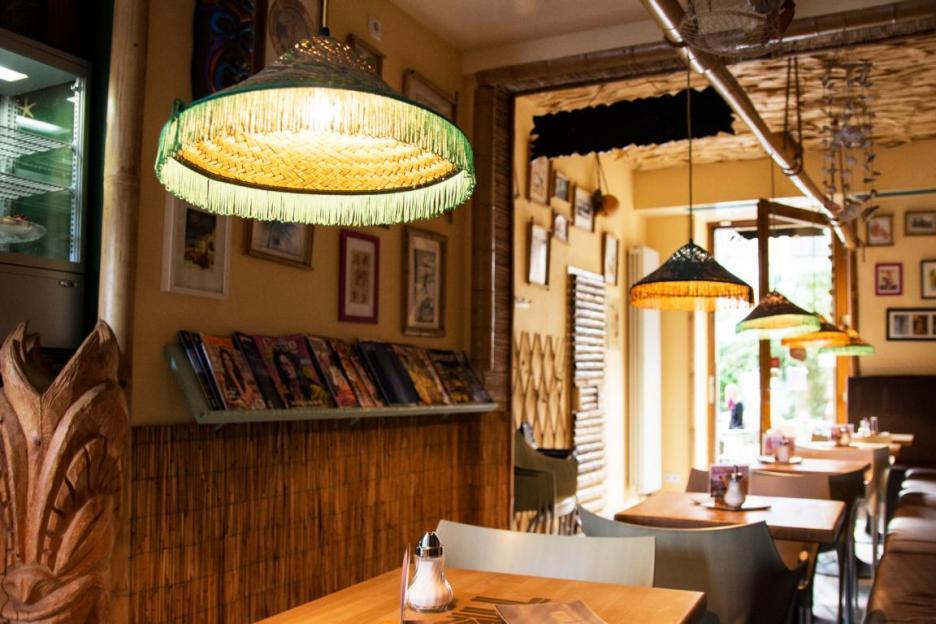 Unternehmungen Dresden: Café in der Neustadt