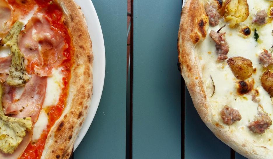 Pizza von Francesca und Fratelli in Hannover