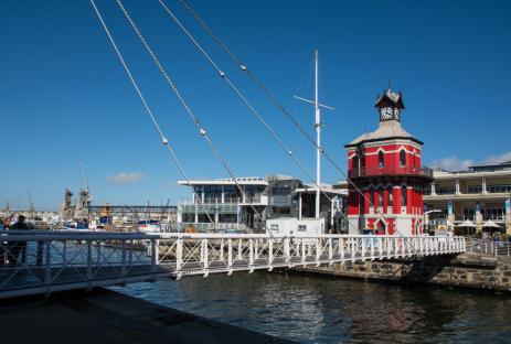 Sehenswürdigkeiten Kapstadt Clock Tower Waterfront