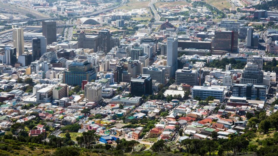 Aussicht Kapstadt Signal Hill