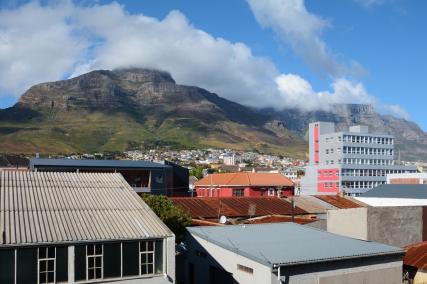 Blick aus unserem Wohnzimmerfenster in Kapstadt