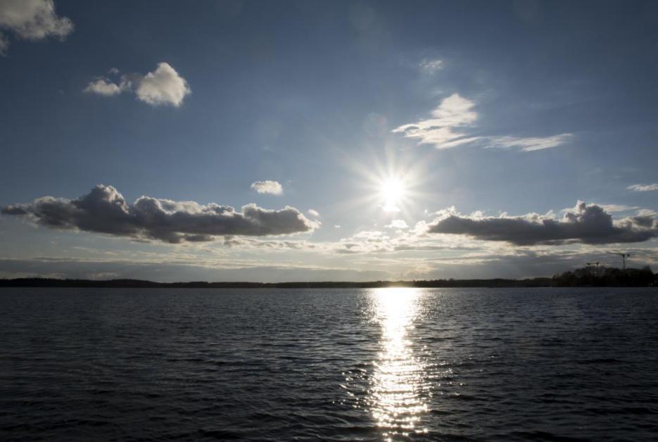 Mecklenburgische Seenplatte Sonnenuntergang Waren
