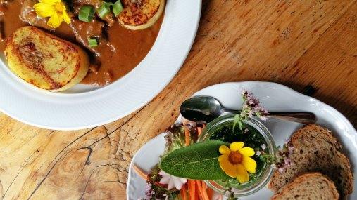 Thüringer Tischkultur Essen in der Burgschänke