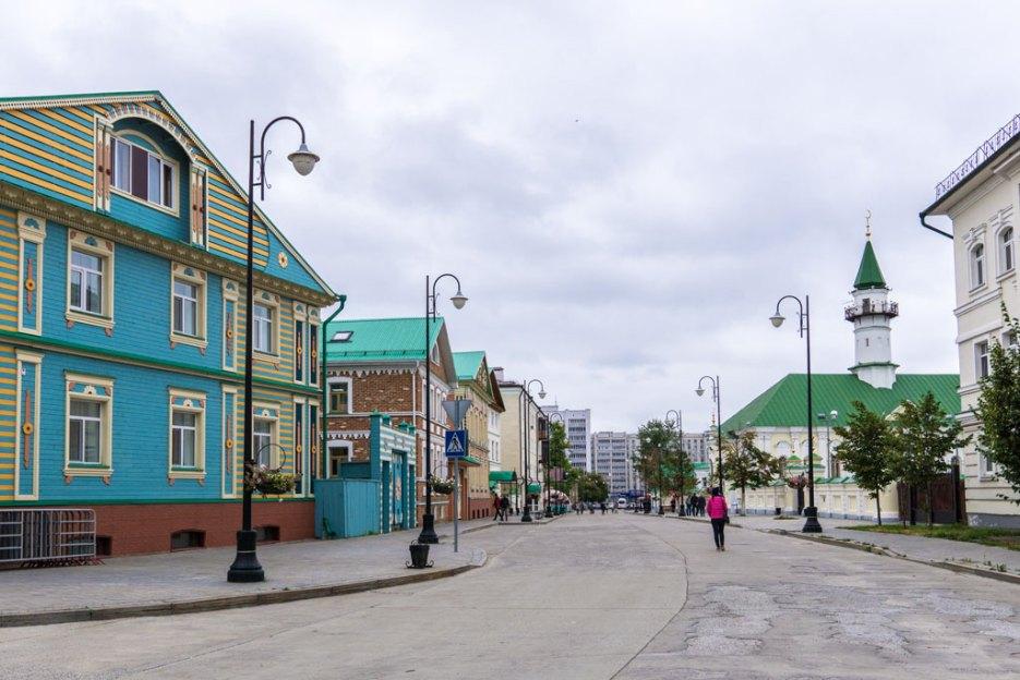 Kasan Sehenswürdigkeiten Tatarenviertel