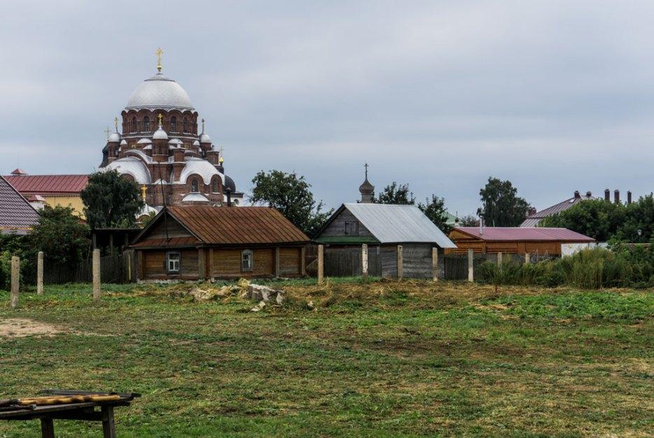 Johannes-derTäufer-Kloster auf der Insel Swijaschsk