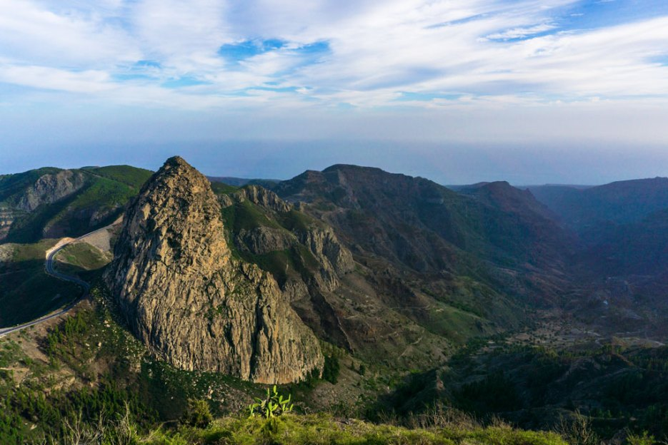 La Gomera Roque de Agando