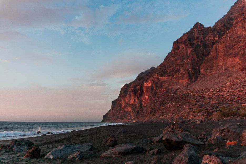 playa inglès valle gran rey la gomera