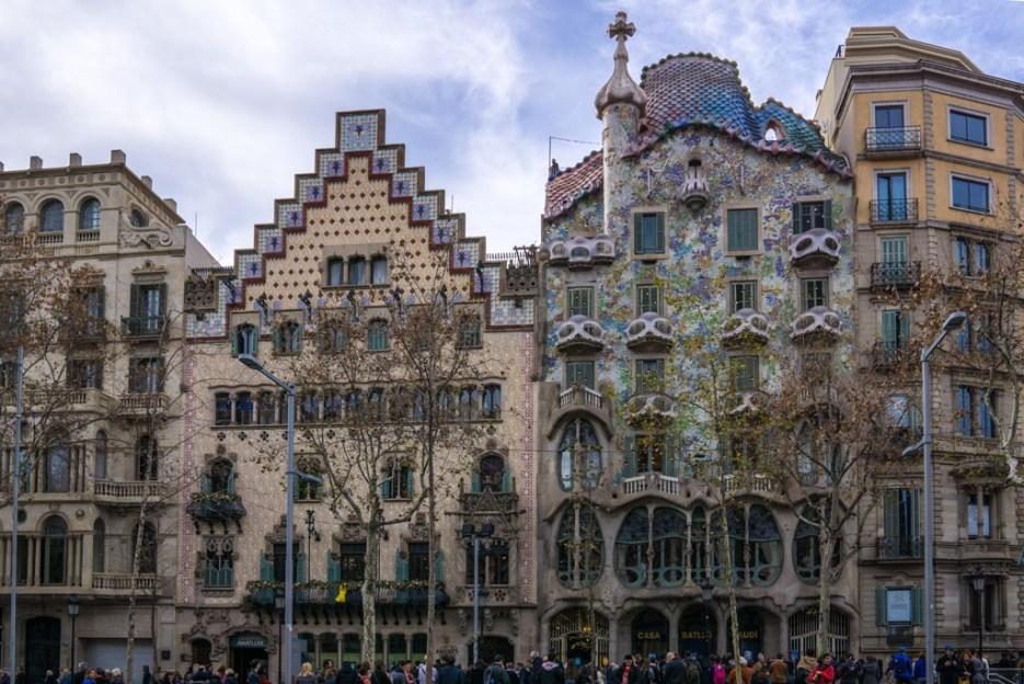 5 Tage Barcelona Casa Batllo