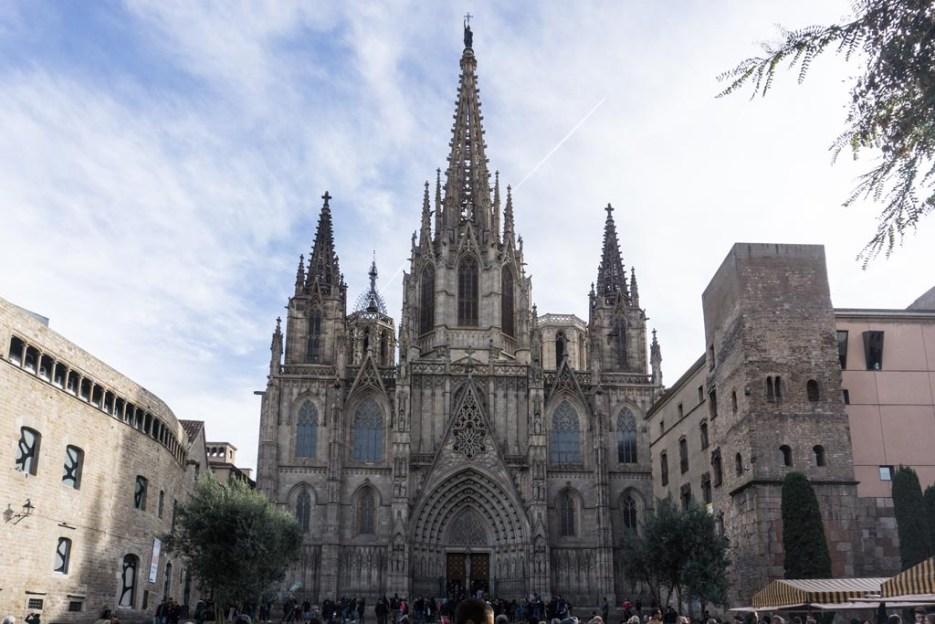5 Tage Barcelona Kathedrale
