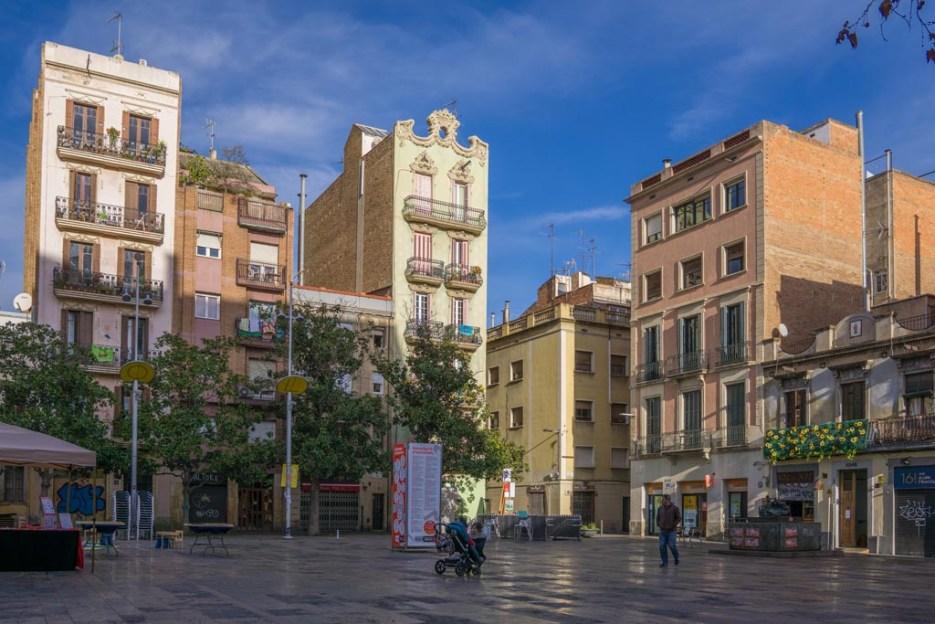 5 Tage Barcelona Placa del Sol