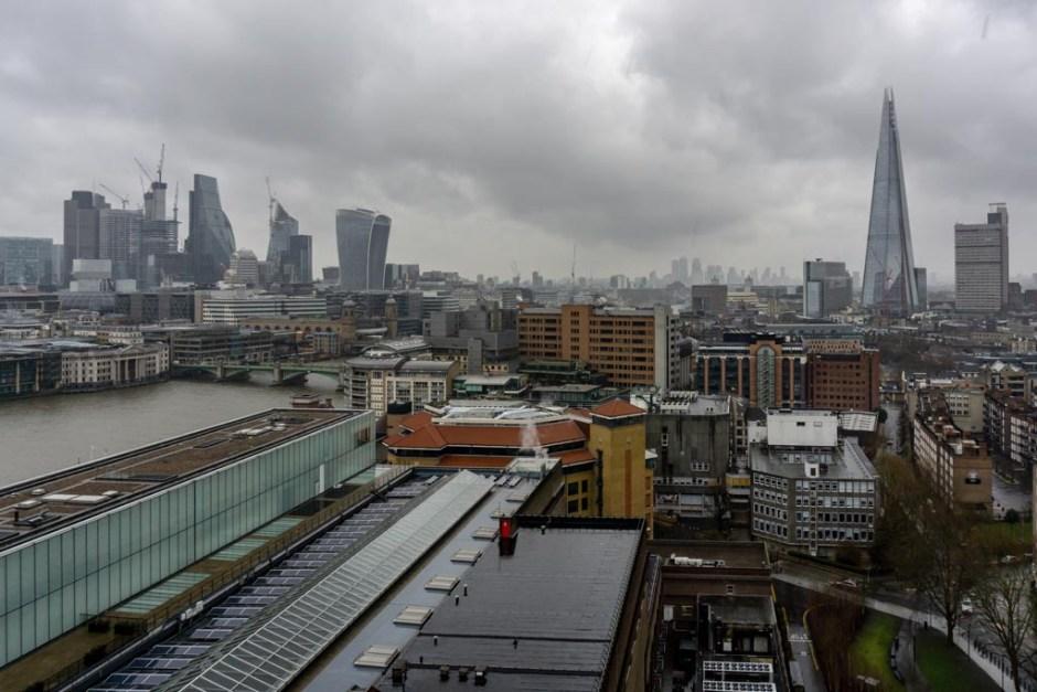 london bei regen und schlechtem wetter