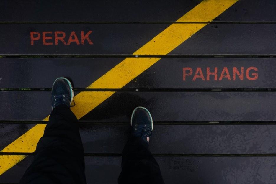 cameron highlands malaysia grenze perak pahang