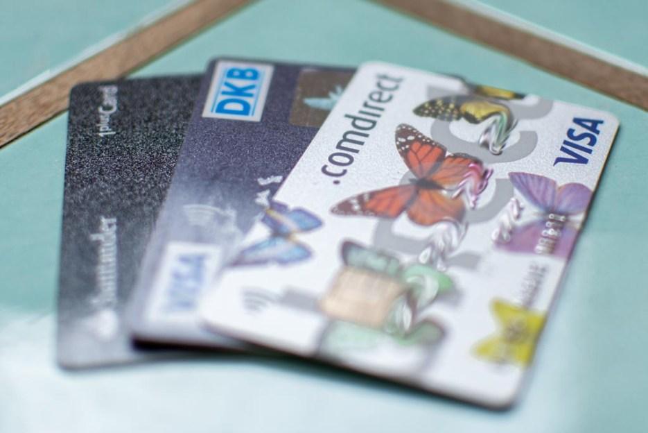 packliste asien kreditkarten