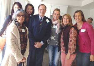 Dr. Brouse and Conference Attendees