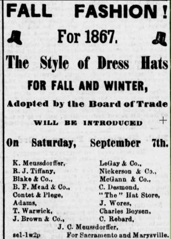 Alta California, 7 Sept 1867.