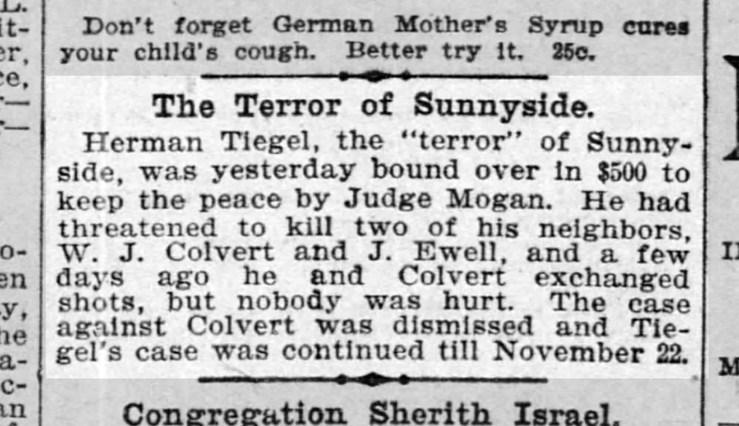 San Francisco Call, 18 Nov 1898. From Newspapers.com.