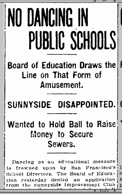 SF Chronicle, 7 July 1910. From Newsbank.com.