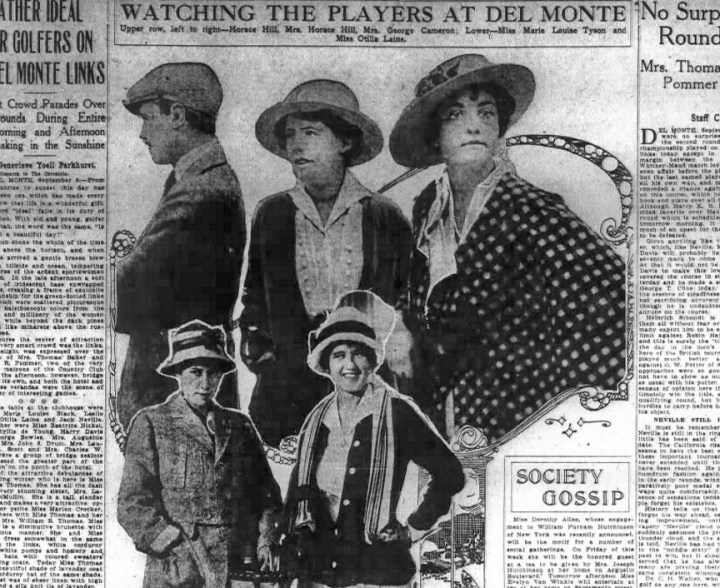The sporty set. SF Chronicle, 9 Sep 1914, p7.