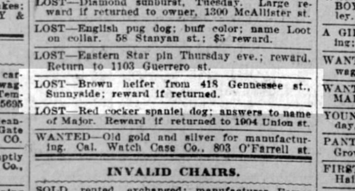 SF Call, 29 July 1906.