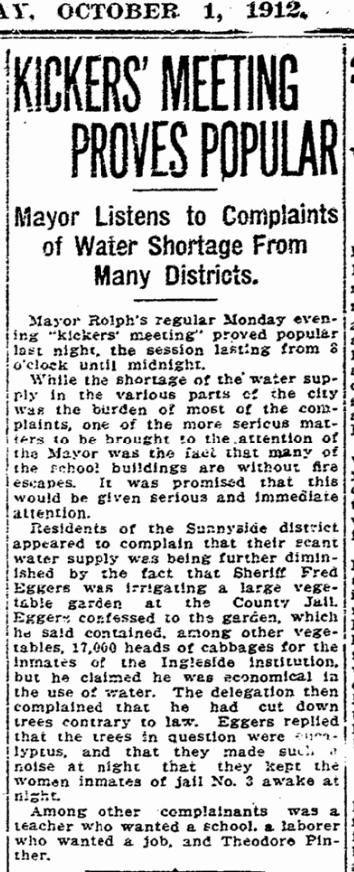 1912Oct01-Chron-p4-Sunnyside-water-shortage-InglesideJail