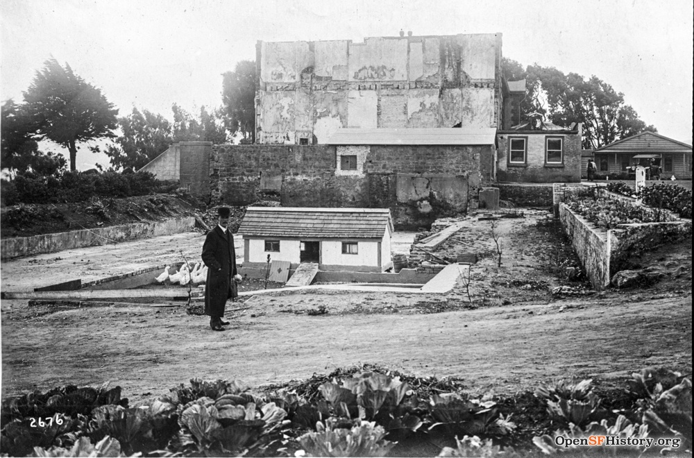 Women's Jail at Ingleside, , 1915. Portion had fallen down in 1906 Quake. OpenSFHistory WNP36.00958.jpg