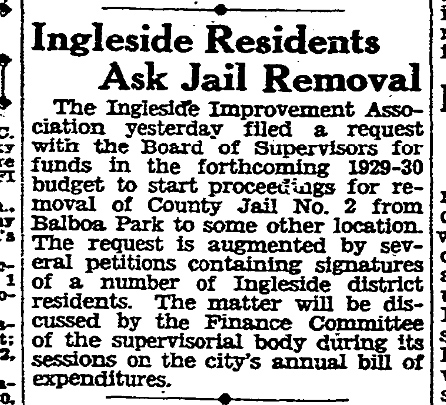 SF Chronicle, 4 May 1929.