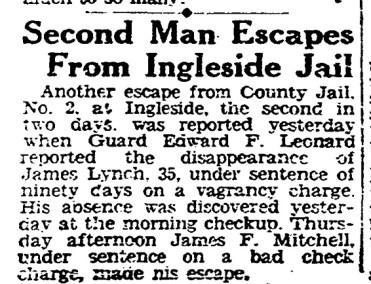SF Chronicle, 13 Sept 1929.