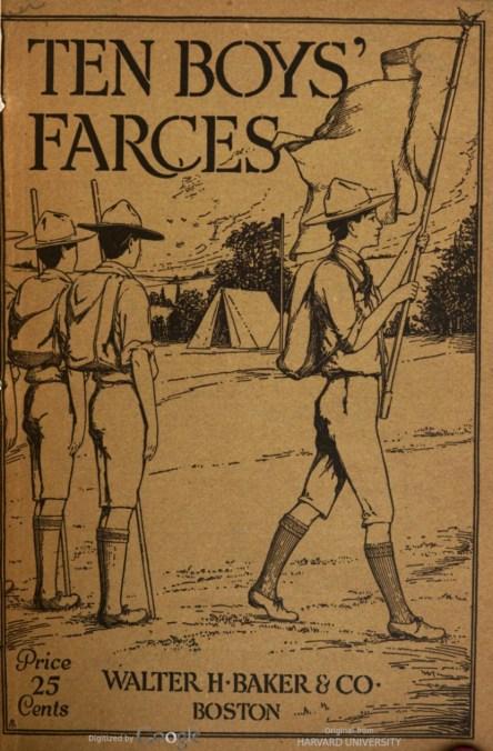 1916-cover-TenBoysFarces-Peixotto