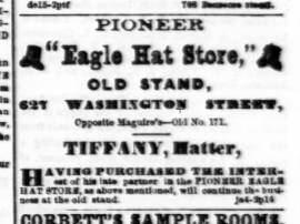 Ad, 9 Jan 1862, Alta Calif