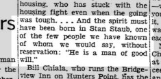From Bill Simon's column, 22 Dec 1940.