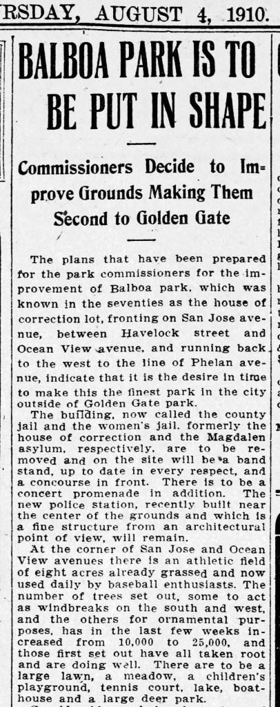 1910Aug04-SFCall-p5-BalboaPark-plans