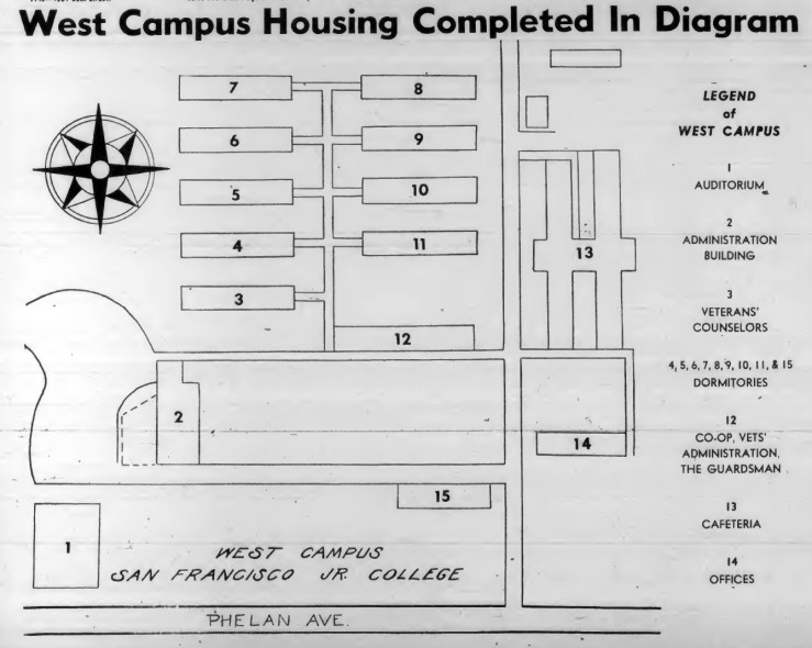 1946Oct01-Guardsman-west-campus-layout