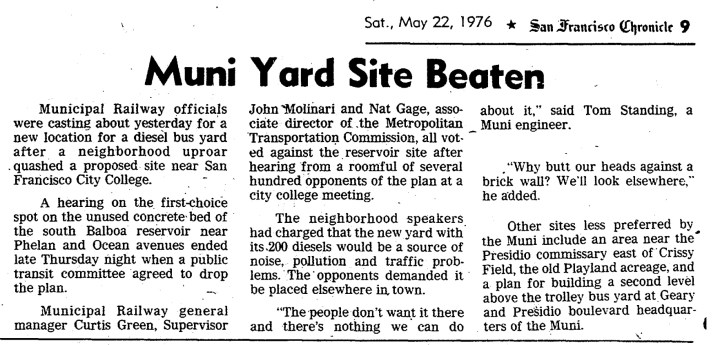 1976May22-Chron-p9-Muni-yard-beaten-BalboaReservoir