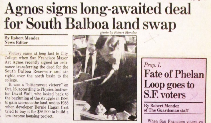1991Oct25-Guardsman-Agnos-signs-land-swap-CCSF-cr
