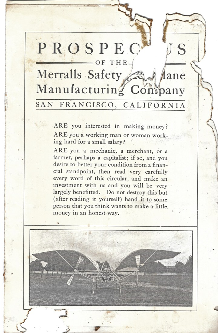 1910-Stock-Prospectus-Merrralls-Safety-Aeroplane-co-s