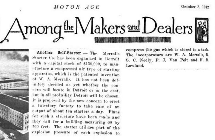 1912Oct03-Motor-Age-another-starter-Merralls