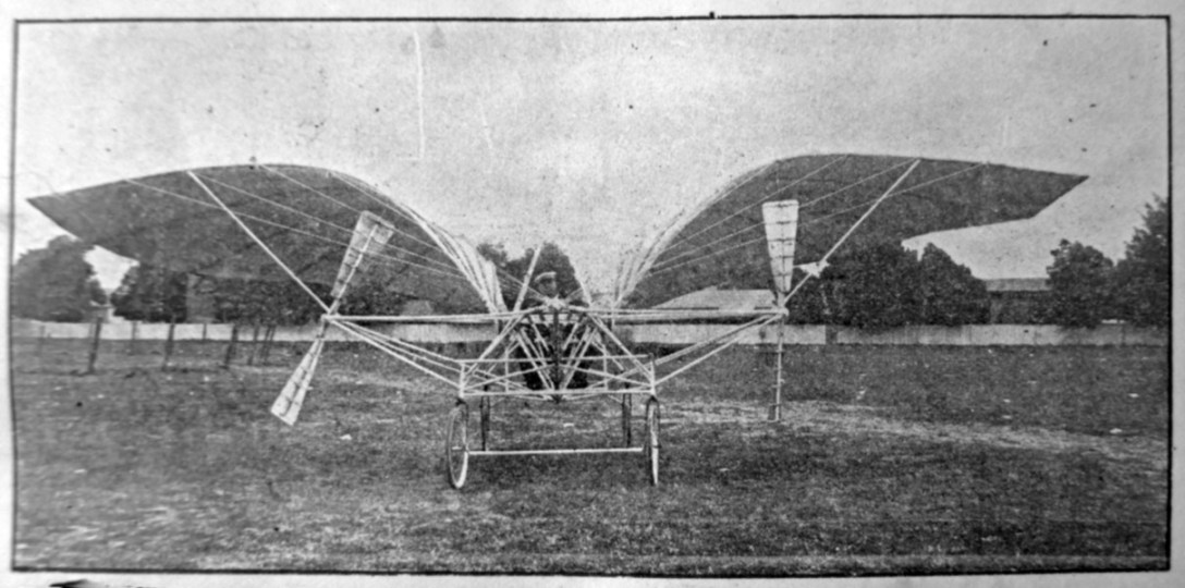 Photo from prospectus, Merralls Safety Aeroplane Company, 1910. Courtesy Allan Merralls.