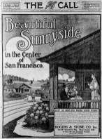 SF Call, 3 June 1909. Page 1 of four-page Sunnyside color supplement. Newspapers.com.