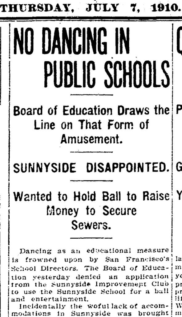 SF Chronicle, 7 Jul 1910.