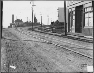 U02893. Monterey Boulevard near Circular Avenue. 5 January 1911. Photo courtesy SFMTA, sfmta.photoshelter.com.
