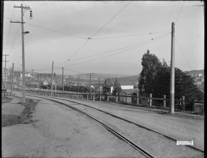 Monterey Boulevard Looking Towards Joost Avenue from Circular Avenue | January 5, 1911