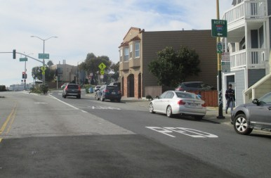 2019. Monterey Blvd, after SFMTA U02893. Photo: Amy O'Hair.