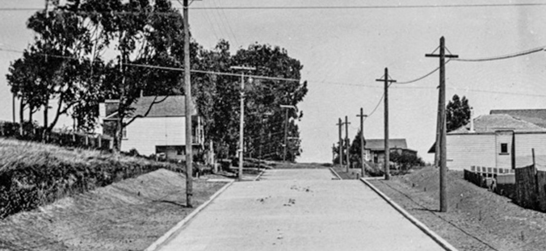 1916. Congo Street from Monterey. OpenSFHistory.org