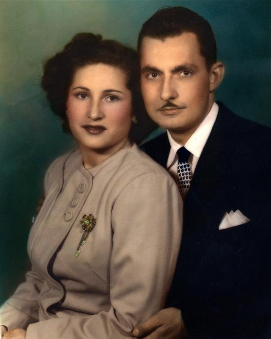 1947c. Annie and Saverio Versaggi. Photo courtesy Charles Versaggi.