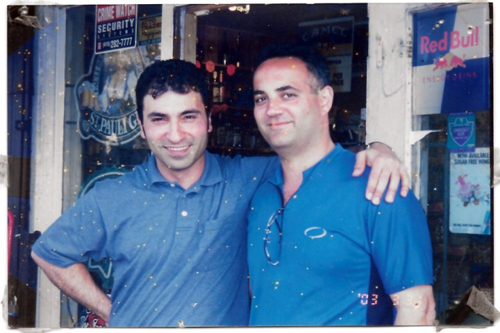 2003. Ziad Hamadalla and friend. Monterey Deli. Photo courtesy Almir Zalihic.