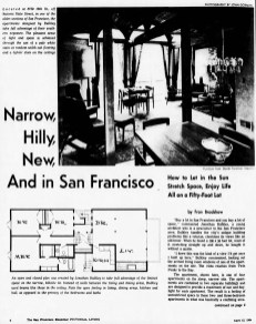 SF Examiner, 12 Apr 1964. Feature: 3759 - 16th St/54 States St (p1).