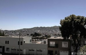 View from front, 422 Monterey. SF Association of Realtors, 2013.