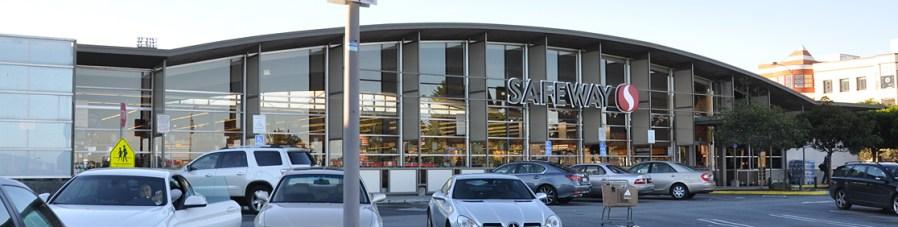 Safeway in the Marina, San Francisco (1959). Roadside Architecture RoadArch.com.