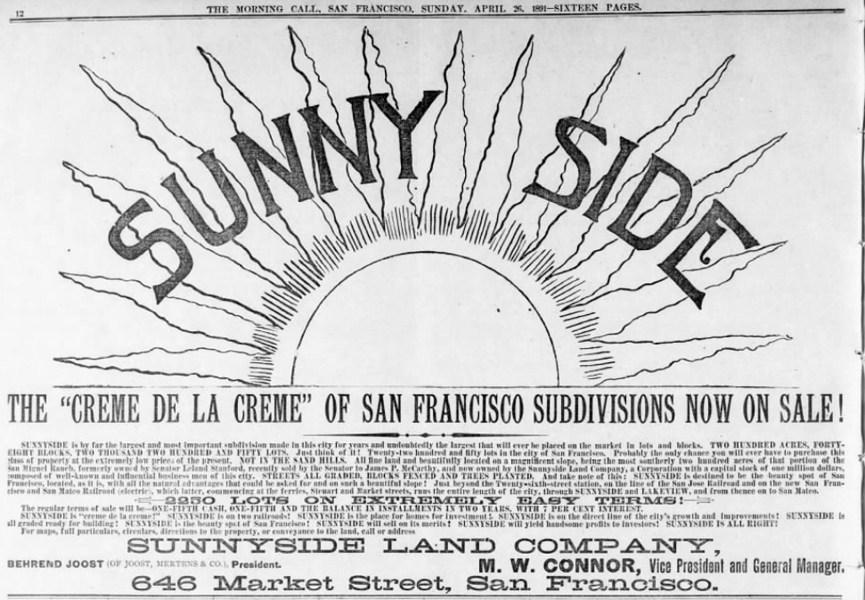 SF Call, 26 Apr 1891.