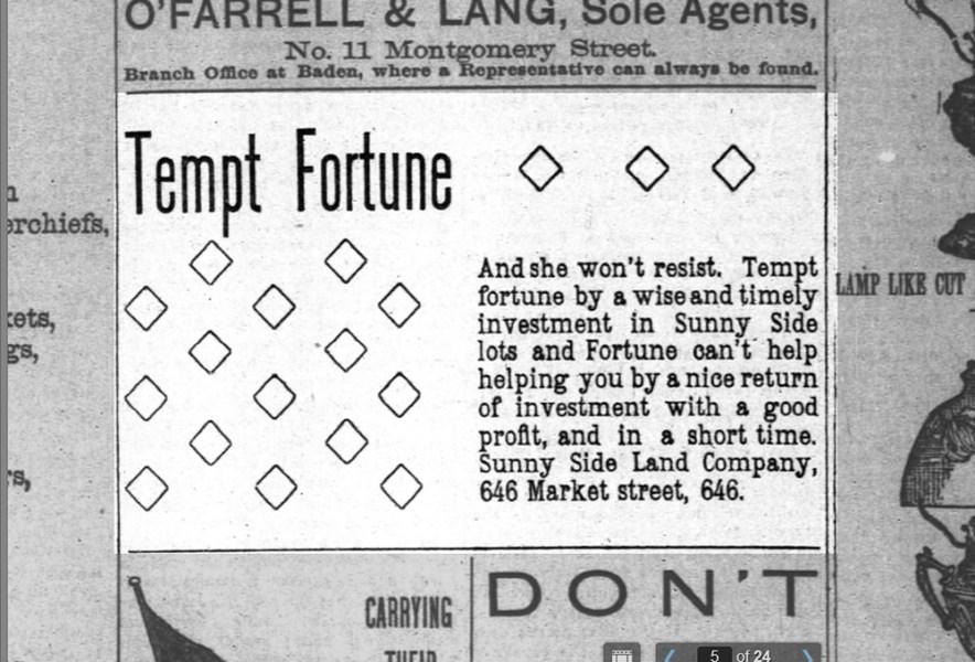 SF Chronicle, 20 Dec 1891.